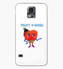 Tacky Kardia Hülle & Klebefolie für Samsung Galaxy