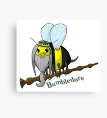 Harry Potter - Bumbledore Bee Canvas Print