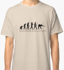 Snooker Evolution Funny Design Classic T-Shirt