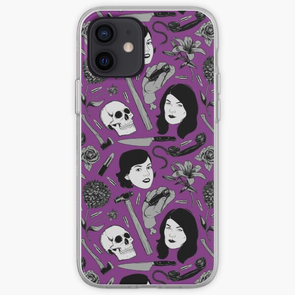 Special Request True Crime Color Pattern iPhone Soft Case