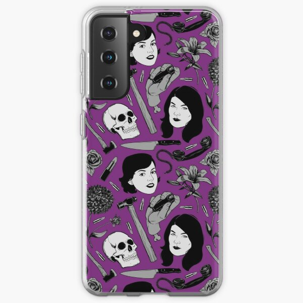 Special Request True Crime Color Pattern Samsung Galaxy Soft Case