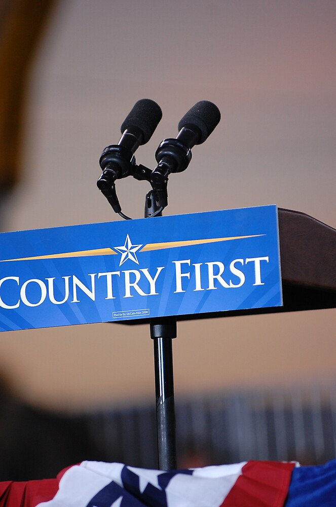Country First by jennawren13