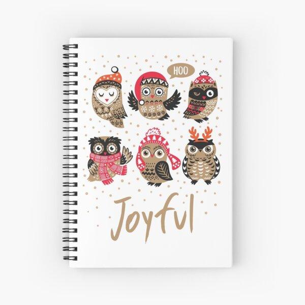 Joyful Spiral Notebook