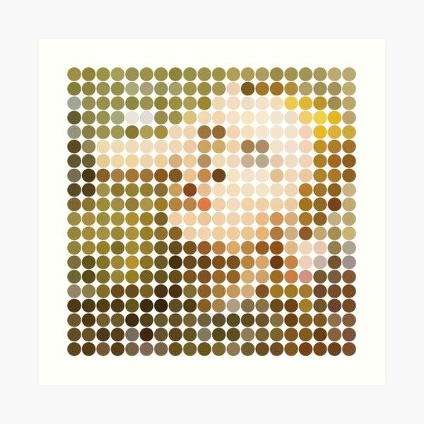 Bowie, Hunky Dory, Dots Art Print