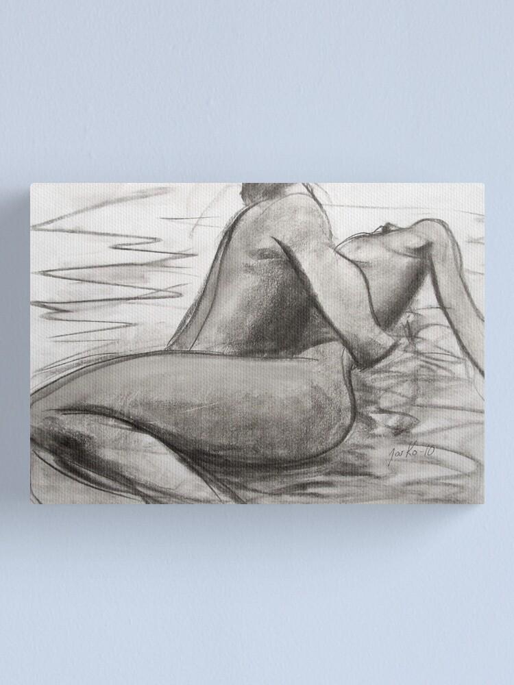 Alternate view of Deep Love Canvas Print