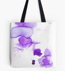 purple abstract watercolor Bolsa de tela