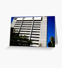 W Hotel Brentwood Greeting Card