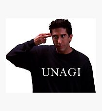 UNAGI Photographic Print