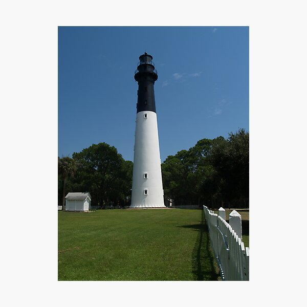 Hunting Island Lighthouse, SC Photographic Print