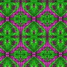 Magenta & Green Symmetry by shopismo