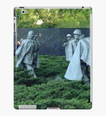Korean War Memorial DC iPad Case/Skin
