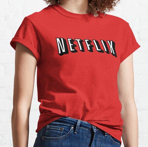 Netflix WHITE Camiseta clásica