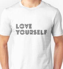 Camiseta ajustada BTS - amor a ti mismo