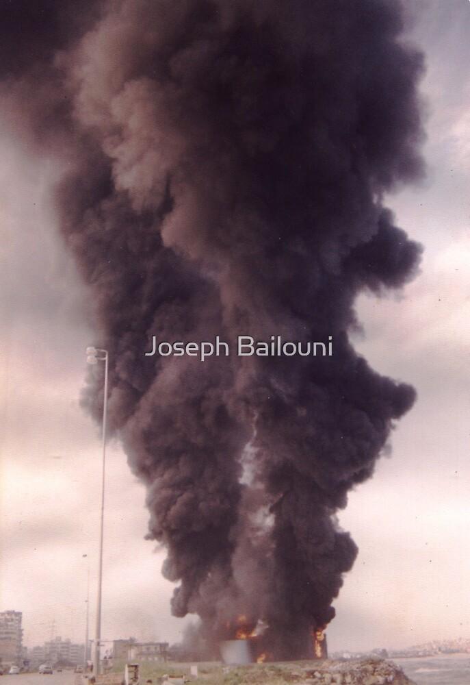 The Fire - The War Collection Lebanon by Joseph Bailouni