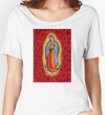 VIRGEN DE GUADALUPE Women's Relaxed Fit T-Shirt