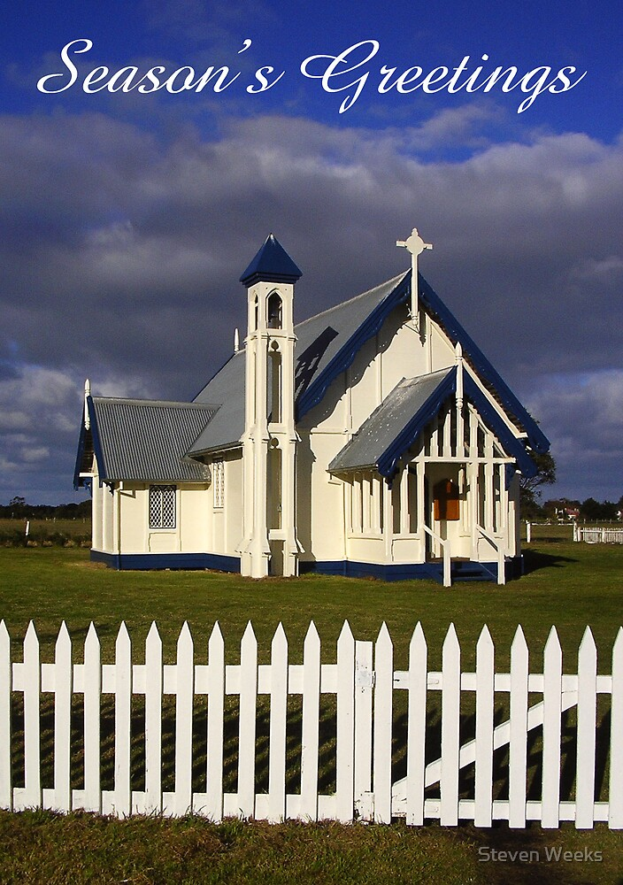 Christ Church, Church of England, Tarraville, Season's Greetings by Steven Weeks