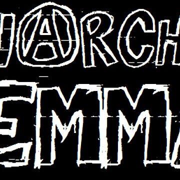 anarcho-femme by ursafish
