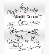 Póster The Vampire Diaries Script
