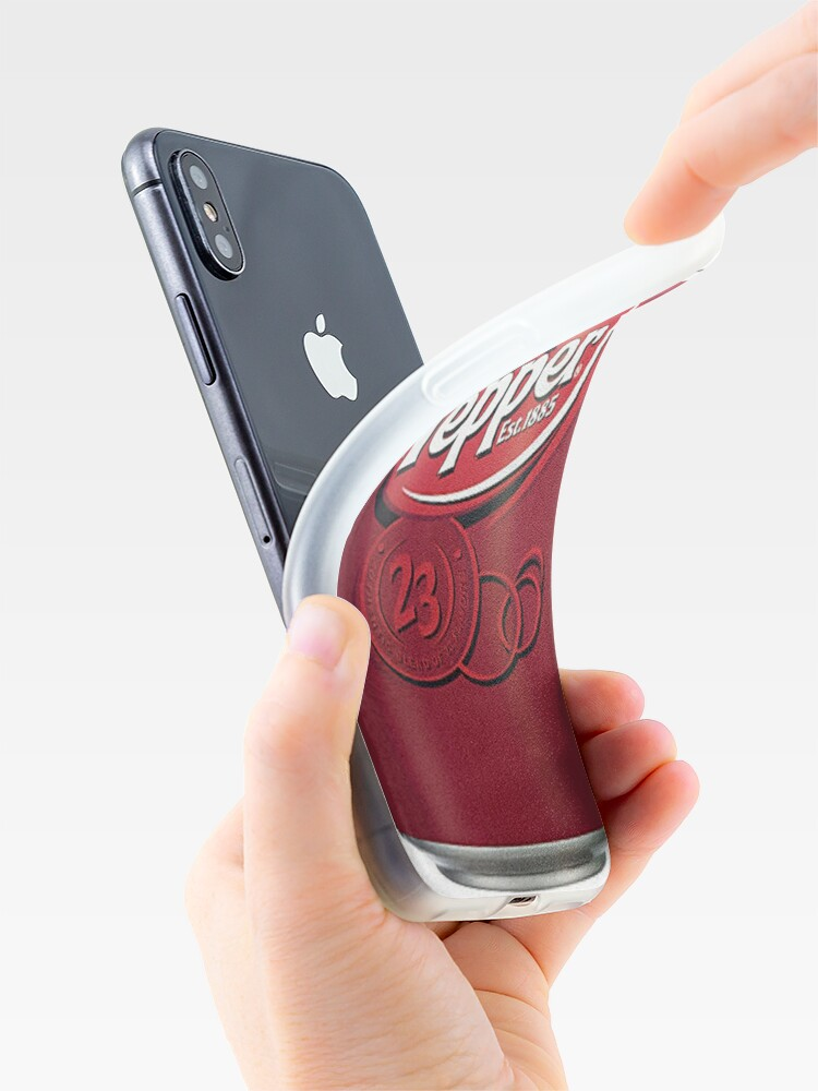 Alternate view of Doctor Pepper iPhone Case & Cover