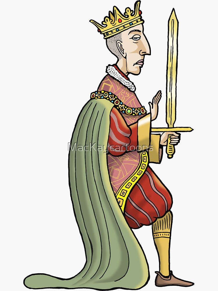 King Henry V by MacKaycartoons