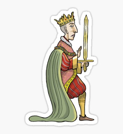King Henry V Sticker