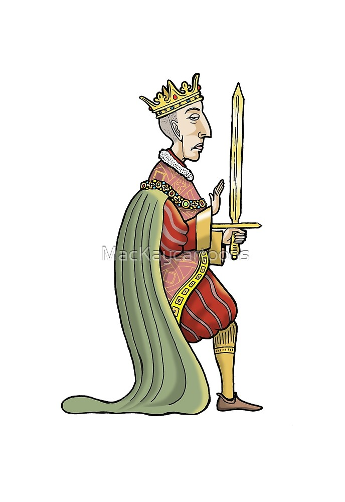 King Henry V by MacKaycartoons