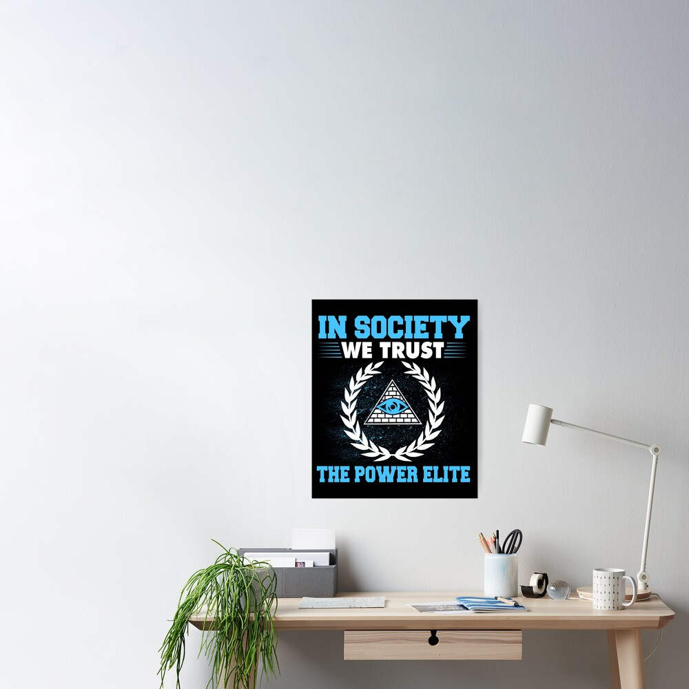 Vintage Anarchy Protest - Retro Riot Art | Political Activist Anarchist - Anti Illuminati Activism Poster