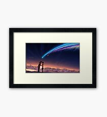 Kimi no na wa / Your Name Framed Print
