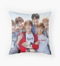 astro band kpop Throw Pillow