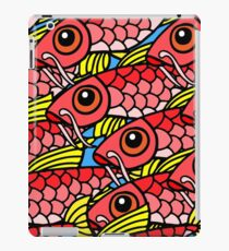 Seamless pattern with fish iPad Case/Skin