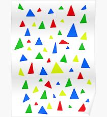 PLAYFUL TREES Poster