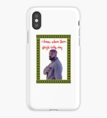 I know when them sleigh bells ring.... iPhone Case/Skin