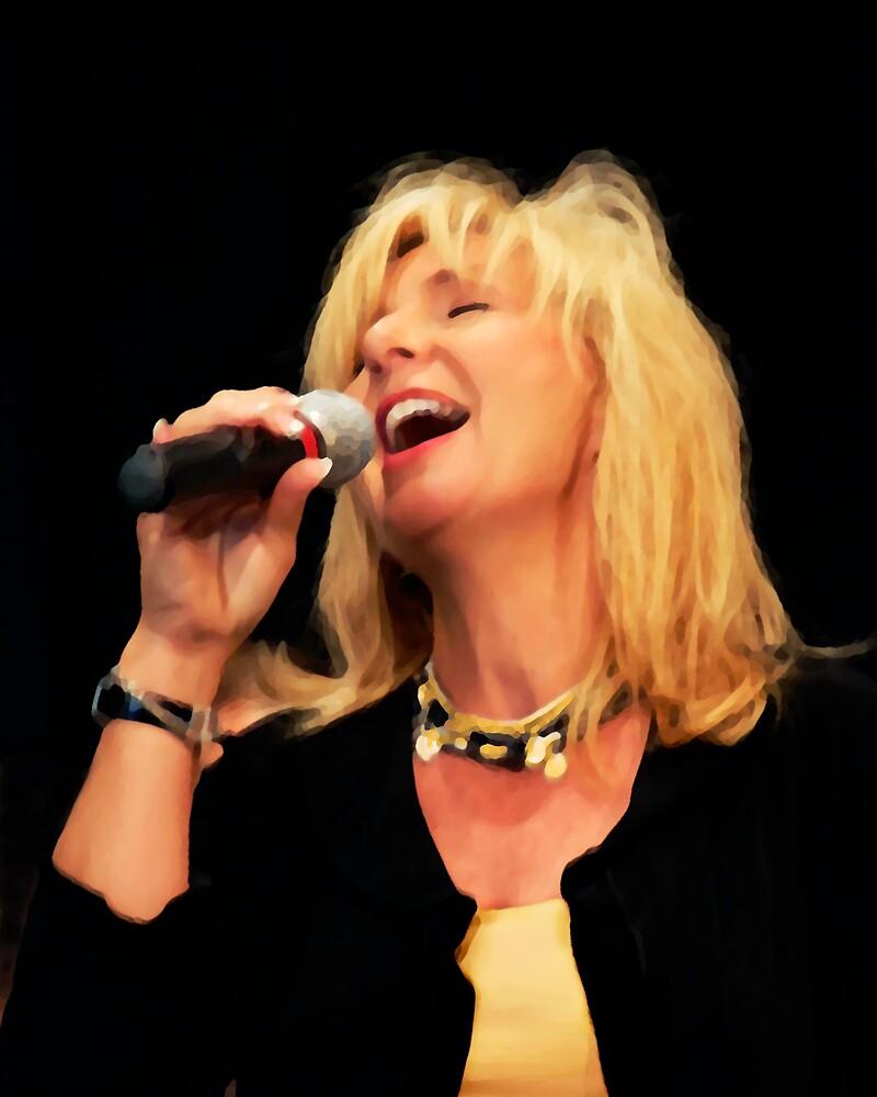 Golden Singer by Francesa