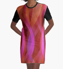 Abstrakter Hintergrund T-Shirt Kleid