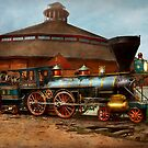 Train - Civil War - General Haupt 1863 by Michael Savad