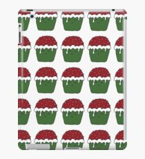 Christmas cup cake iPad Case/Skin