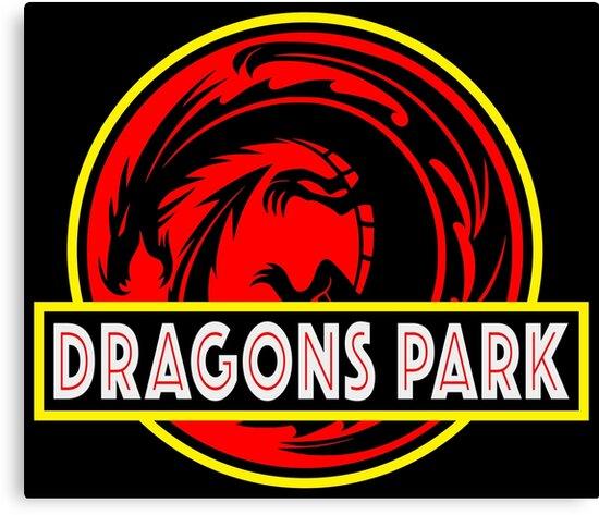 Dragons Park Fantasy Theme Park Logo Design Similar To The Hit