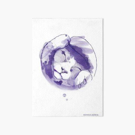Purple kitten Lámina rígida