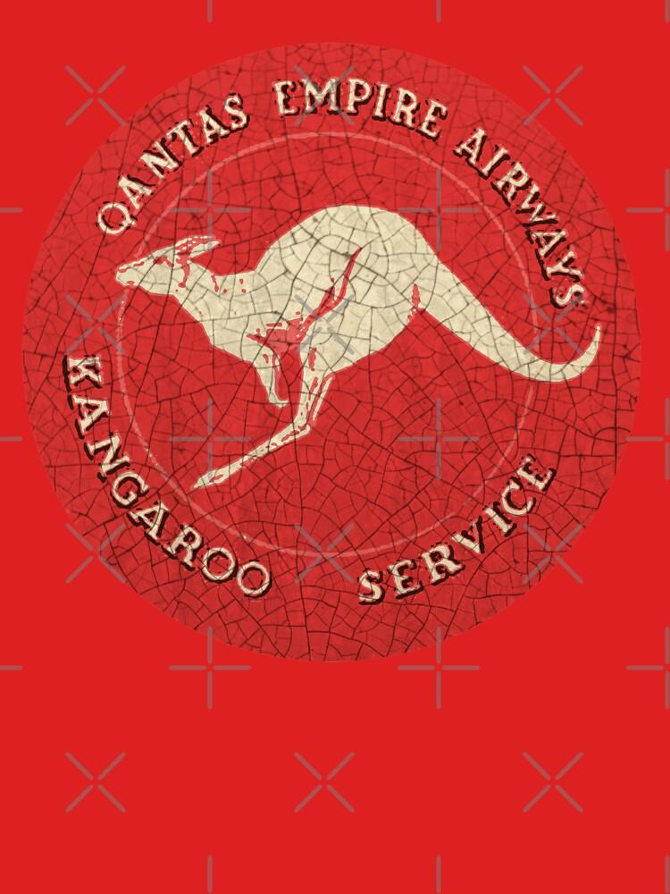 Qantas Vintage Roo by midcenturydave
