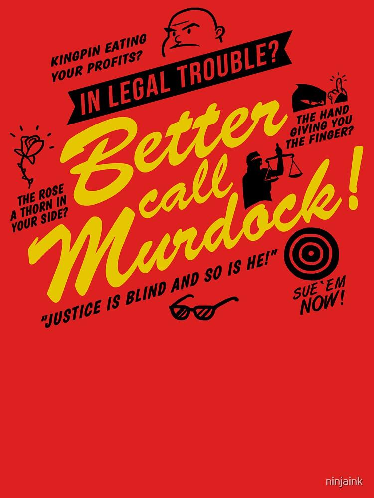 Besser anrufen Murdock! von ninjaink