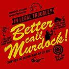 Better Call Murdock! by ninjaink