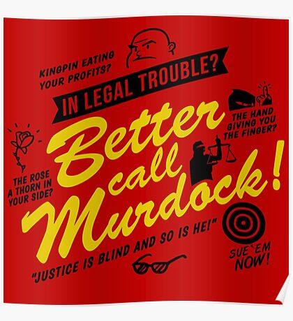 Better Call Murdock! Poster