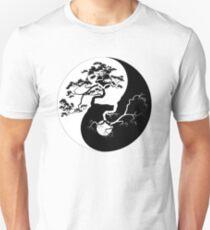Yin and Yang Boho Trees Yin Yang Symbol for Balance and Harmony Unisex T-Shirt