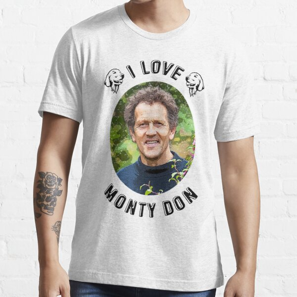I Love Monty Don Essential T-Shirt