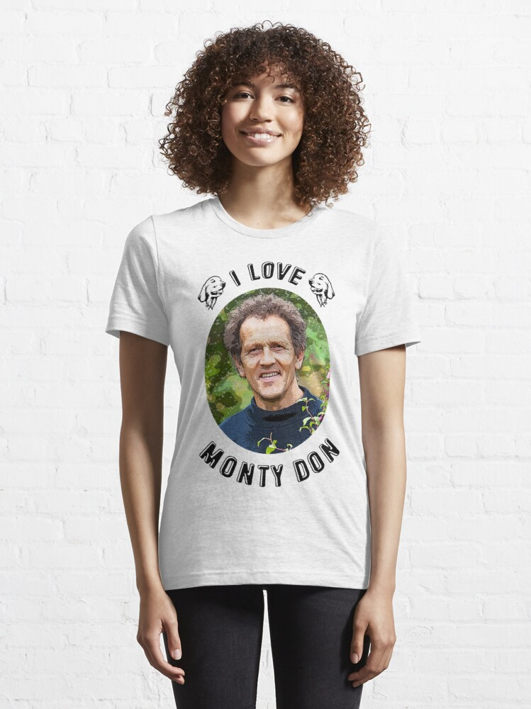 Alternate view of I Love Monty Don Essential T-Shirt