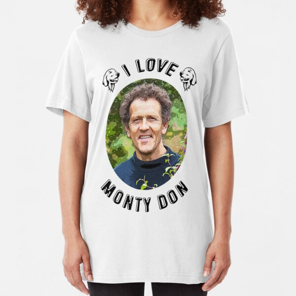 I Love Monty Don Slim Fit T-Shirt