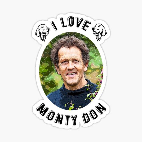 I Love Monty Don Sticker