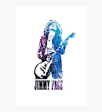 LED ZEPPELIN - Jimmy Page Photographic Print