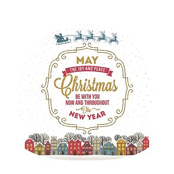 Christmas Greeting Art Design by words2success