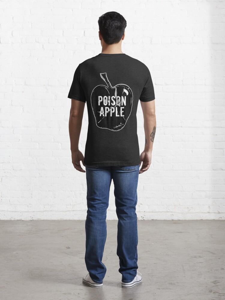 Alternate view of POISON APPLE BLACK Essential T-Shirt